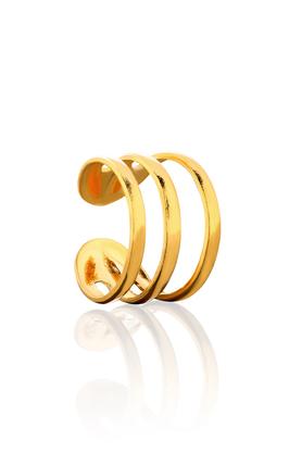 Kolczyki Nausznica No.3 złote PROJEKTANT La Tienne