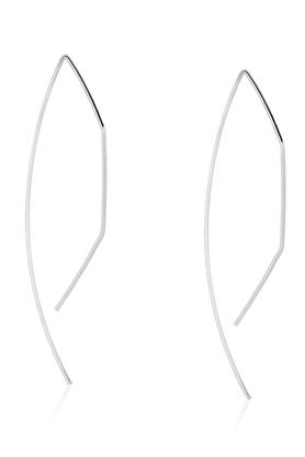Kolczyki STAY SIMPLE No.2 srebrne PROJEKTANT La Tienne