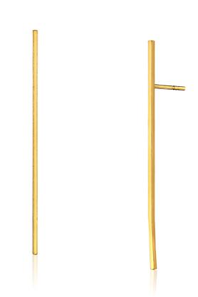 Kolczyki STAY SIMPLE No.4 złote PROJEKTANT La Tienne
