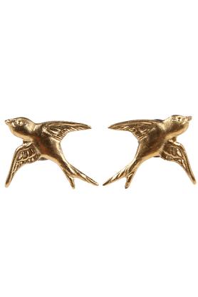 Kolczyki ptaszki złote PROJEKTANT AMULETUM