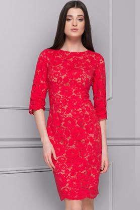 Sukienka Coralie czerwona PROJEKTANT Kasia Zapała