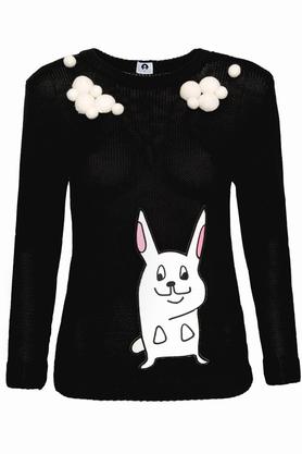 Sweter z haftem Rabbits PROJEKTANT RabbitRabbit