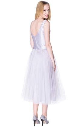Sukienka Calineczka wrzos PROJEKTANT Inspiracja Butik
