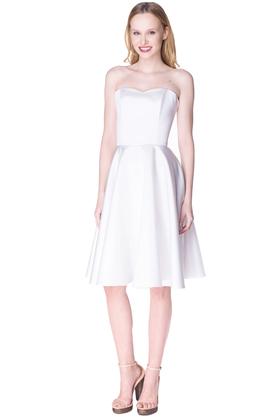 Sukienka gorsetowa Arabela biała PROJEKTANT Inspiracja Butik