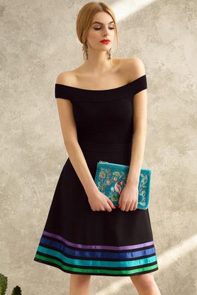 Spódnica trapezowa w pasy Cool PROJEKTANT Kasia Miciak