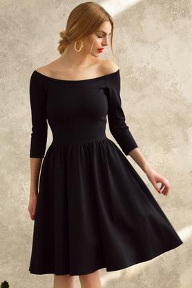 Sukienka hiszpanka czarna PROJEKTANT Kasia Miciak