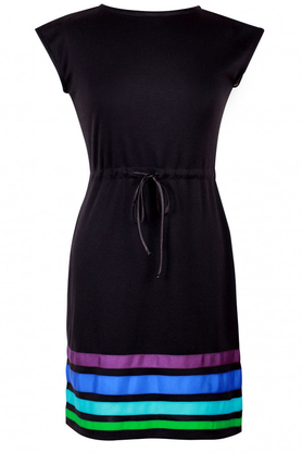 Sukienka w pasy Cool PROJEKTANT Kasia Miciak
