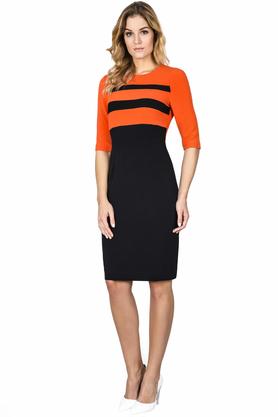 Sukienka Horizon Orange PROJEKTANT FRANCHIE RULES