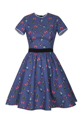 Sukienka w motylki Amore PROJEKTANT Kasia Miciak