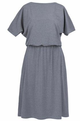 Sukienka uniwersalna z kieszeniami szara PROJEKTANT Kasia Miciak