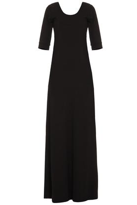 Sukienka długa czarna PROJEKTANT Yuliya Babich