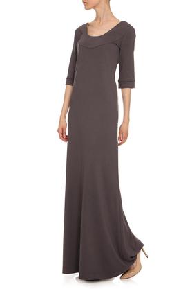 Sukienka długa szara PROJEKTANT Yuliya Babich