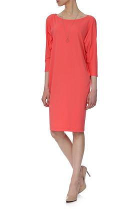 Sukienka luźna koralowa PROJEKTANT Yuliya Babich