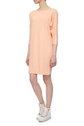 Sukienka luźna łososiowa PROJEKTANT Yuliya Babich