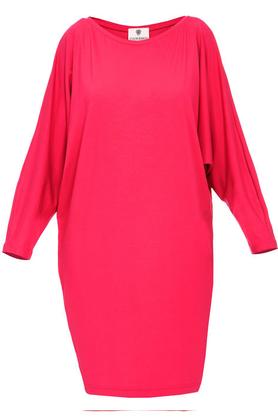 Sukienka luźna różowa PROJEKTANT Yuliya Babich