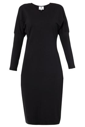 Sukienka ołówkowa czarna III PROJEKTANT Yuliya Babich