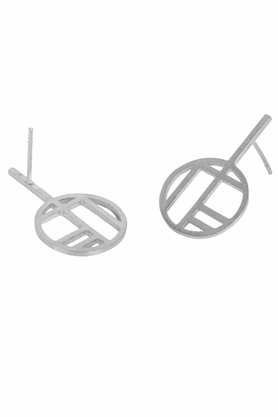 Kolczyki Flappers 2 srebrne PROJEKTANT FROU-FROU