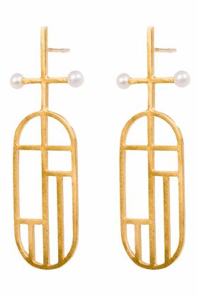 Kolczyki Flappers 8 złote PROJEKTANT FROU-FROU