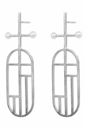 Kolczyki Flappers 8 srebrne PROJEKTANT FROU-FROU