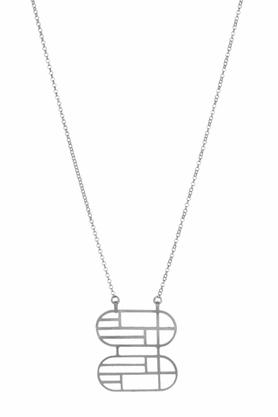 Naszyjnik Flappers 17 srebrny PROJEKTANT FROU-FROU