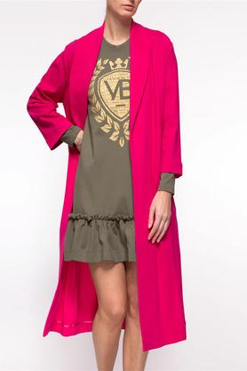 Płaszcz klasyczny różowy PROJEKTANT Yuliya Babich