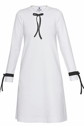 Sukienka biała falbana PROJEKTANT Yuliya Babich