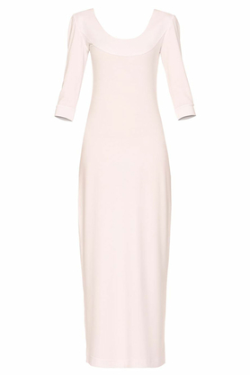 Sukienka długa ecru ii PROJEKTANT Yuliya Babich