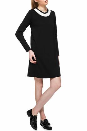 Sukienka minimalistyczna czarna PROJEKTANT Yuliya Babich