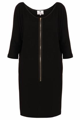 Sukienka z suwakiem czarna PROJEKTANT Yuliya Babich