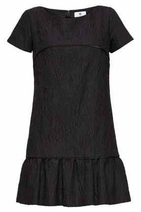 Sukienka żakardowa czarna PROJEKTANT Yuliya Babich