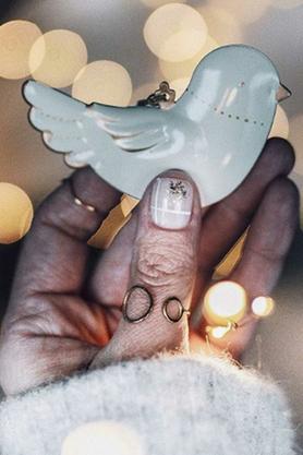 Pierścionek Knuckle Ring No.2 srebrny PROJEKTANT La Tienne