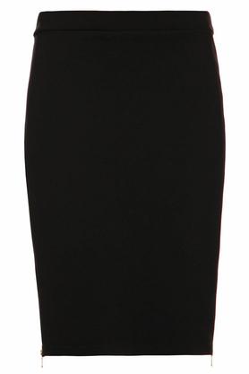 Spódnica ołówkowa z suwakiem czarna PROJEKTANT Yuliya Babich
