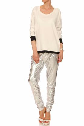 Spodnie srebrne II PROJEKTANT Yuliya Babich