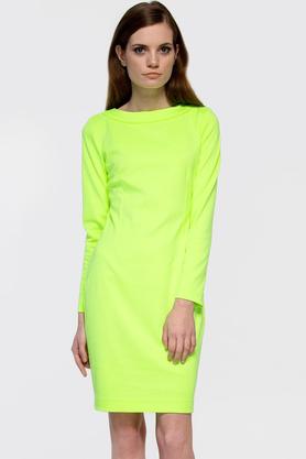Sukienka midi ołówkowa neozielona PROJEKTANT Yuliya Babich