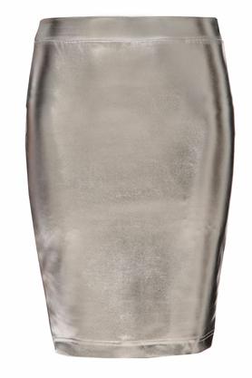 Spódnica srebrna PROJEKTANT Yuliya Babich