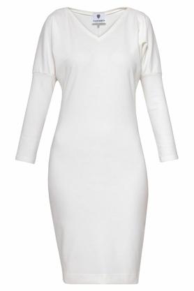 Sukienka ołówkowa ecru II PROJEKTANT Yuliya Babich