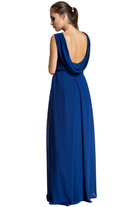Sukienka długa Kleopatra granatowa PROJEKTANT Inspiracja Butik