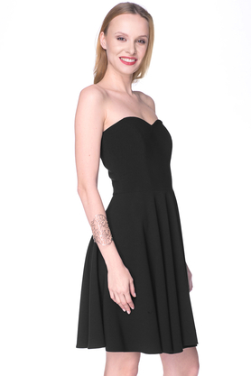 Sukienka gorsetowa Arabela czarna PROJEKTANT Inspiracja Butik