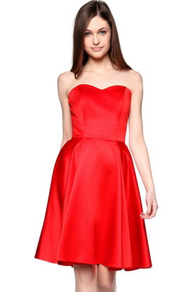 Sukienka gorsetowa Arabela czerwona PROJEKTANT Inspiracja Butik