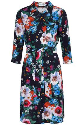 Sukienka Szmizjerka w Malowane Kwiaty PROJEKTANT Kasia Miciak