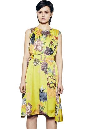 Sukienka z Paskiem Calypso PROJEKTANT RabbitRabbit