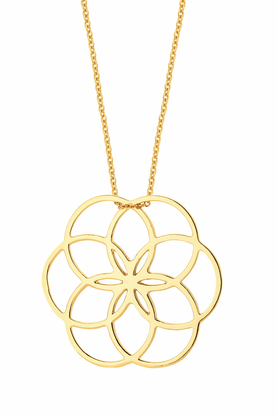 Naszyjnik Kwiat Życia I Złoty PROJEKTANT La Tienne