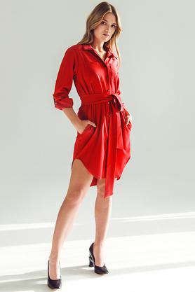 Koszula długa czerwona PROJEKTANT VerityHunt