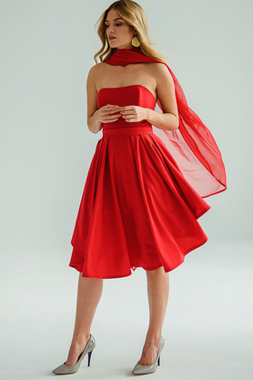 Sukienka gorsetowa czerwona PROJEKTANT VerityHunt