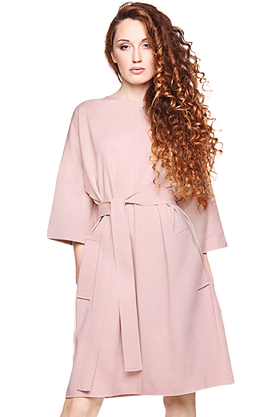 Sukienka kimonowa różowa PROJEKTANT VerityHunt