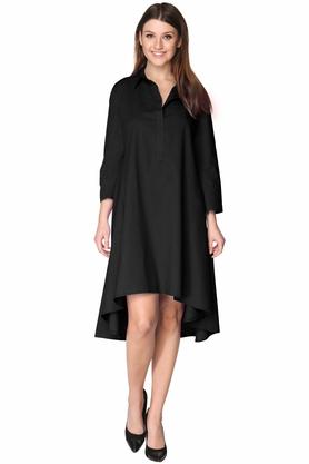 Sukienka koszulowa czarna PROJEKTANT VerityHunt