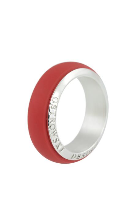 Obrączka Joy Line czerwona PROJEKTANT OSTROWSKI DESIGN